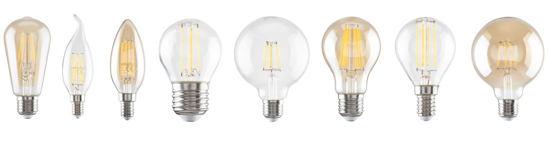 Żarówki LED Filament