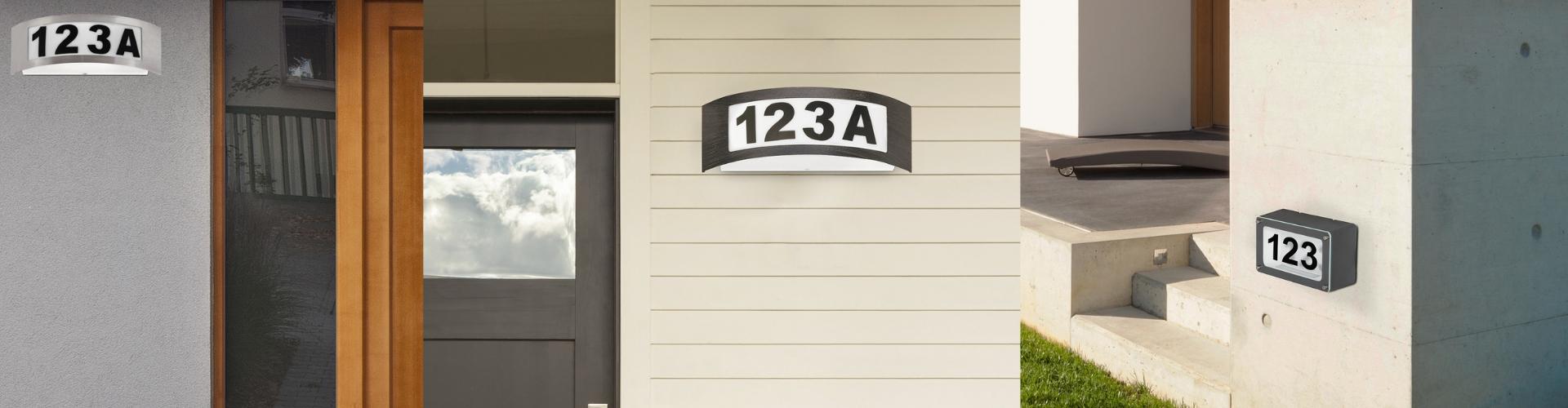 Oświetlenie numeryczne domów