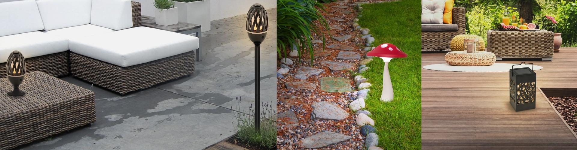 Zewnętrzne lampy dekoracyjne
